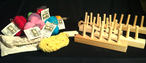 Newmoor Barn Peg Loom 5 peg Education Pack