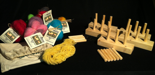 Newmoor Barn Peg Loom 3 peg Education Pack