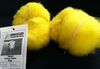 Texal Bright Yellow Carded Wool 50g