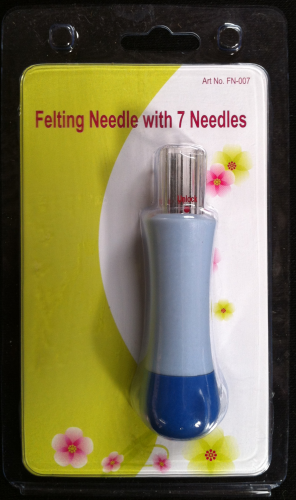 Felting Needle with 7 Needles