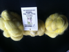 Alpaca Huacaya Carded Wool Yellow 50g