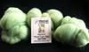 Alpaca Huacaya Carded Wool Green 50g