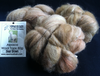 Alpaca Huacaya Carded Wool Bear Brown 50g