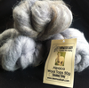 Alpaca Huacaya Carded Wool Smokey Grey 50g