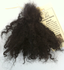 Premium Ebony Tight Curls Mohair for Reborns and Doll Making
