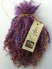 .Wensleydale Locks for Doll making in Purple Ice 1 oz