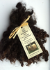 .Wensleydale Locks for Doll making in Undyed Very Dark Browns and Black 1 oz