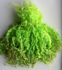 Wensleydale Locks for Doll making in Bright Green 1 oz