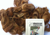 Devon & Cornwall Longwool Loose Fleece Browns 50g