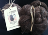 Black Undyed Zwartbles Carded Wool 50g