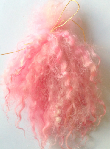Premium Pastels  Mohair Pinks for Doll Making