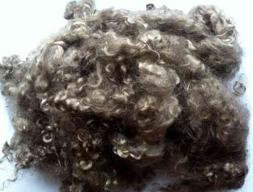 Ethical Mohair Fleece Dark Brown