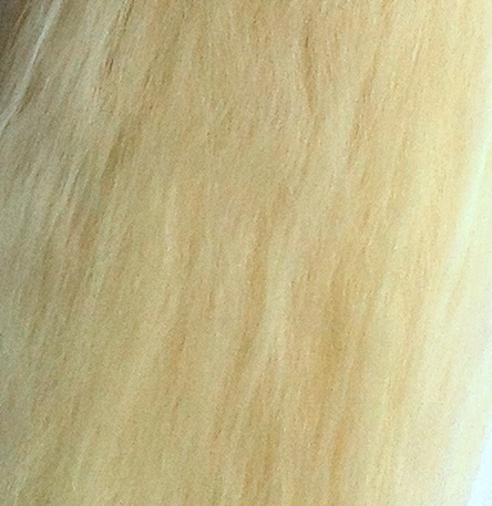 Suri Alpaca Super Soft Wefts 0.5m Doll making Ivory
