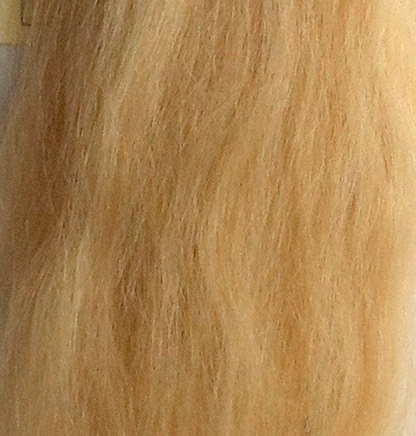 Suri Alpaca Super Soft Wefts 0.5m Doll making Light Blonde