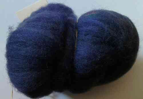 Texal Denim Blue Carded Wool 50g