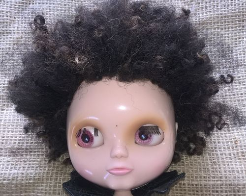Doll wig Afro Style in Wensleydale X